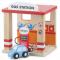 Benzin-/ Tank Station, træ