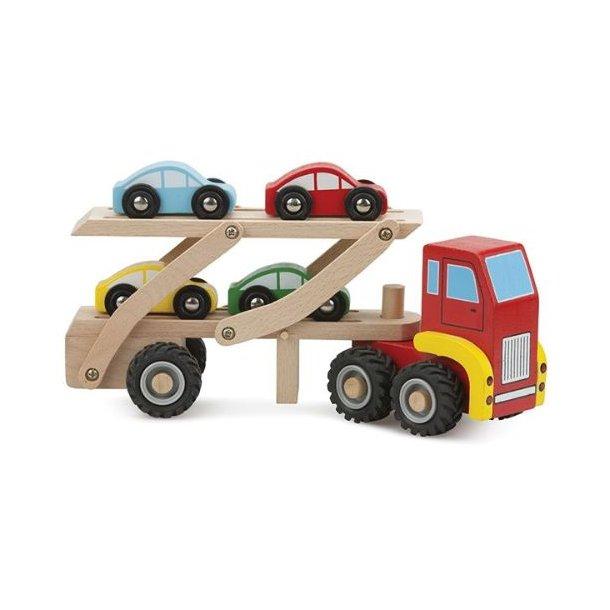 Autotransporter, træ