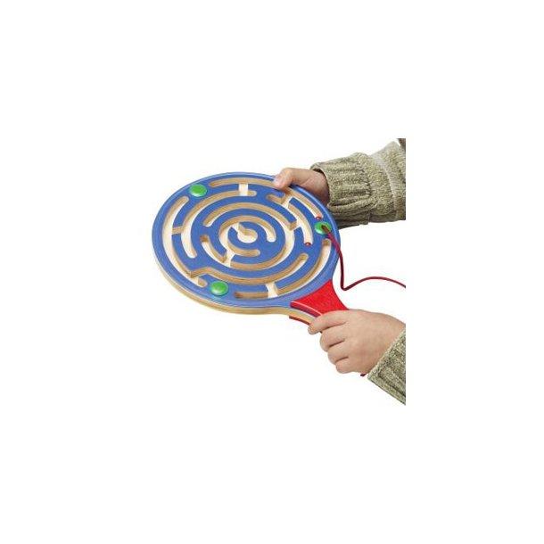 Labyrint bat, magnet spil