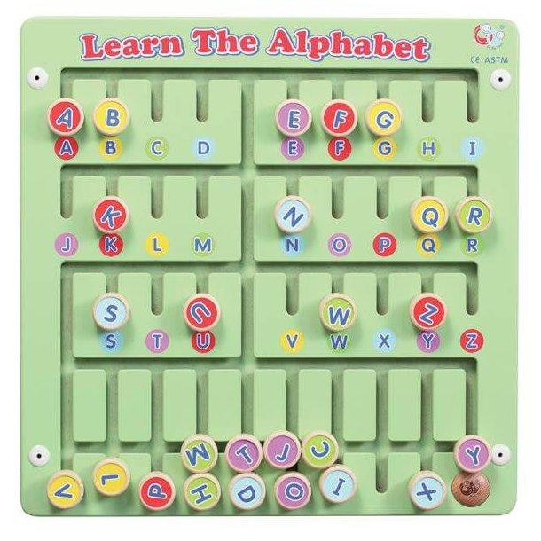 Alfabet og bogstaver, væghængt