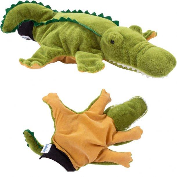 Krokodille hånddukke