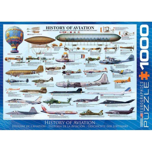 Historiske Fly, 1000