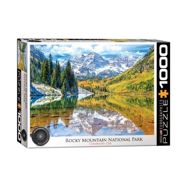 Rocky Mountain puslespil, 1000