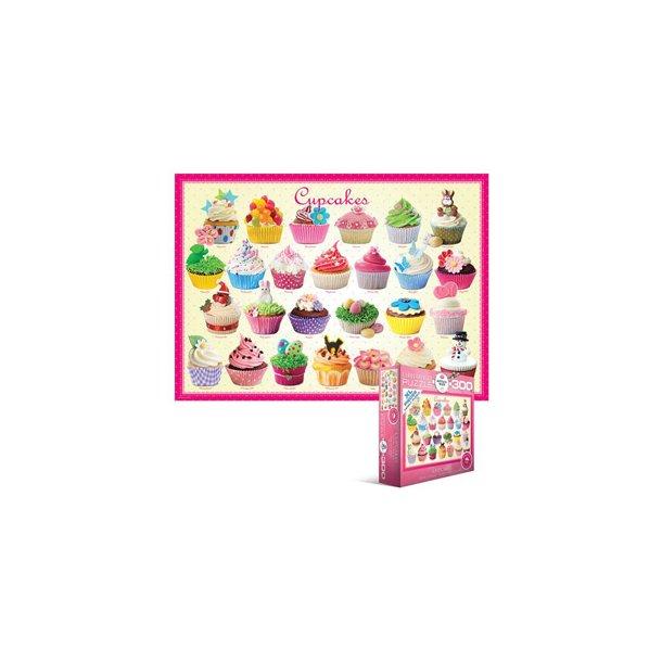 Cupcakes, 300 XL brikker