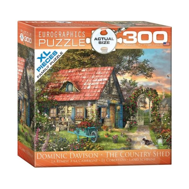Country Shed, 300 brikker